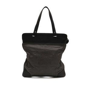 cf8ca56cc787 Burberry Bags - Burberry Prorsum Canvas   Leather Flat Tote Bag